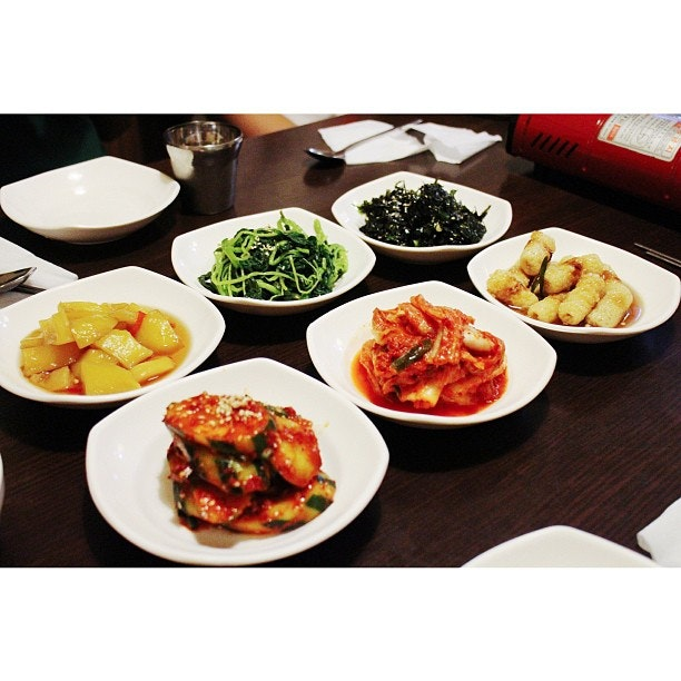 Every time we have a Korean meal, all I really want to stuff myself with are the side dishes.