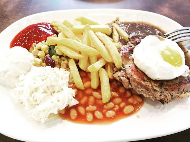 #fishman #chickenchop #westernfood #sgfood #sgeat #hungrygowhere #instag #instagfood #foodpic #burpple #sgcafe #whati8tdy #grabfood