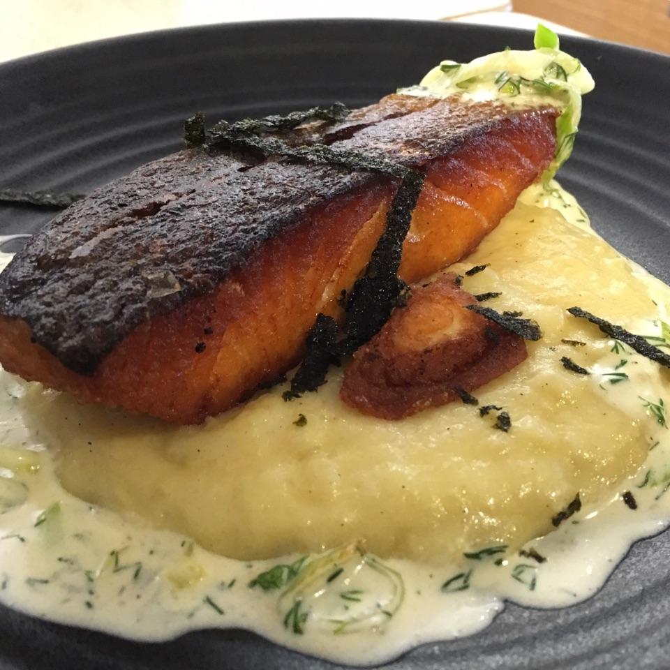 Crispy King Salmon