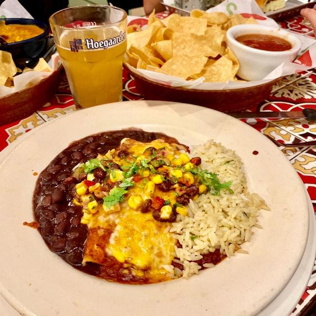Beef Enchilada