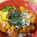 Affordable Japanese food at Republic Polytechnic Lawn foodcourt!
