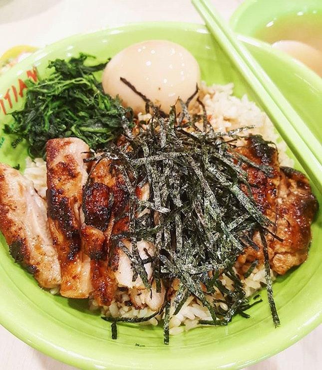 Grilled Chicken Ochazuke ($6.80) Quite an unusual menu for a foodcourt dish 🍱  #burpple #burppleSG #tslmakan #sgfood #foodsg #sgfoodie #sgeats #instasg #instafood #foodporn #sgfoodporn #igfood #igfoodie #sgeats #foodgasm #foodlover #foodstagram #exploresingapore #foodinsing #8dayseat #myfab5 #topsgrestaurants #topcitybites #foodinsing