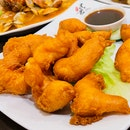 Prawn Fritters With Sweet Sauce