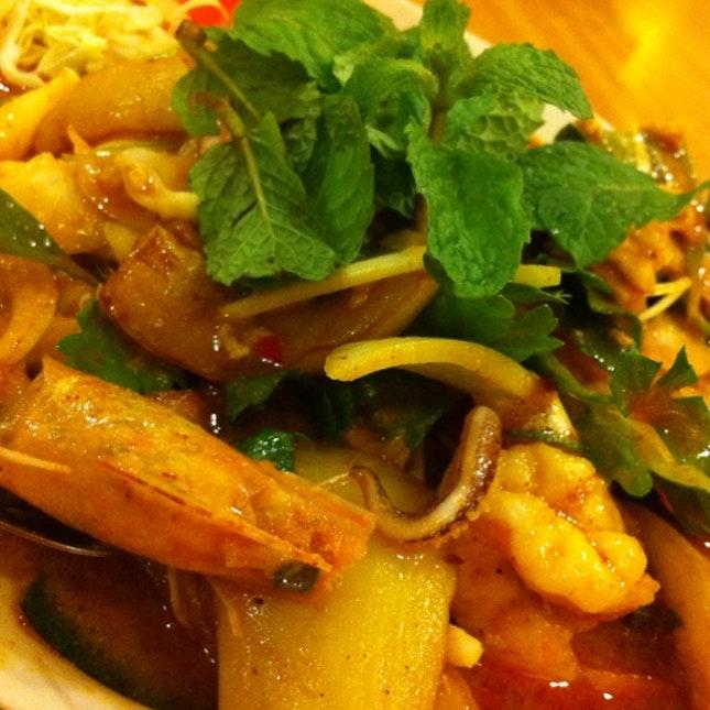 Brinjal Salad Thai Style