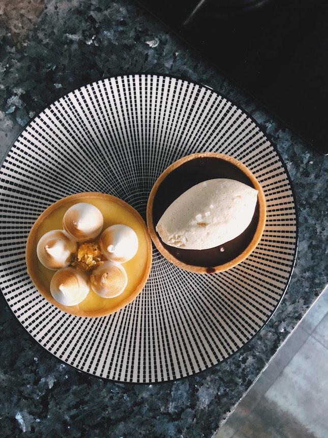 Lemon And Chocolate Tarts