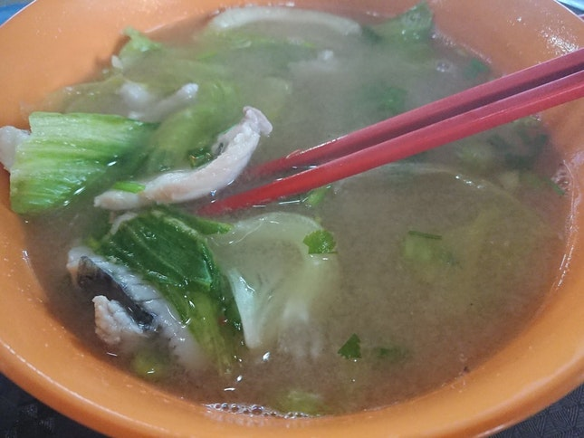 Teochew Fish Soup And Porridge