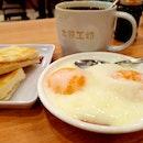 Toast box 土司工坊 kopi O set ~ sedap, delicious, 好吃!
