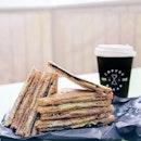 Toast-Sesame ($3.50), Latte-Pumpkin Spice ($4)