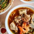 Prawn & Pork Ribs Noodle ($5)