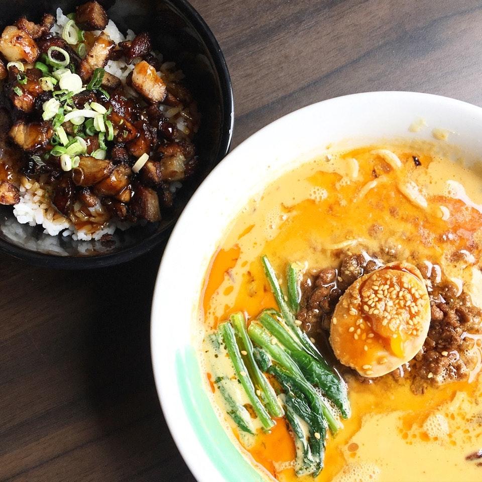 Soupy Goodness - Japanese Ramen