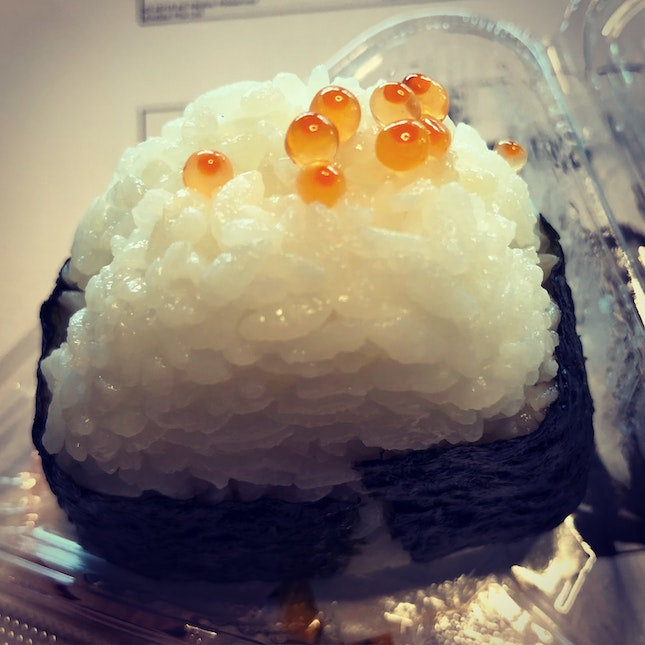 Ikura Onigiri Half Price Only At $1.25!!