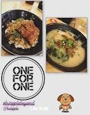 Unagi Rice & Beef Noodle