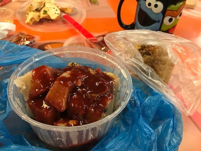 Yam Cake + Nonya Dumpling