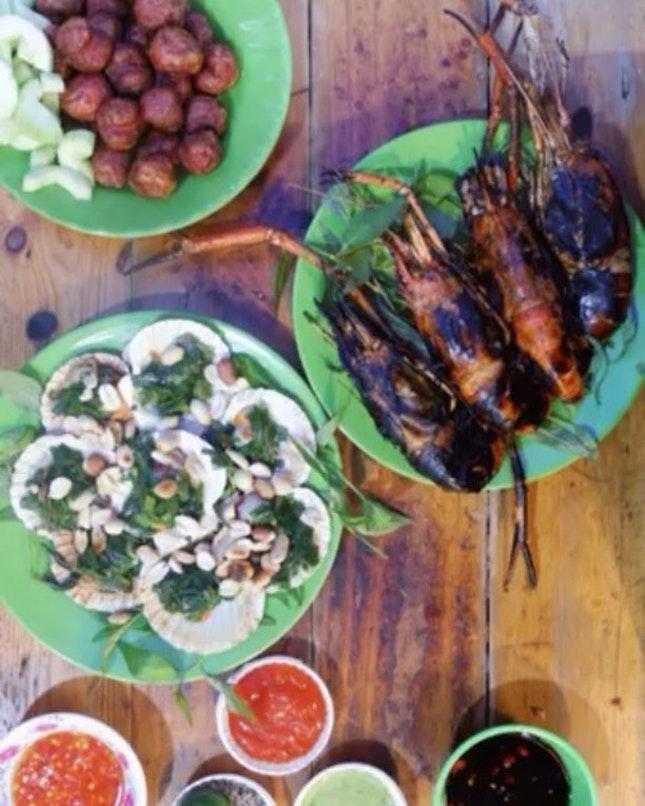 Missing Saigon's street food!