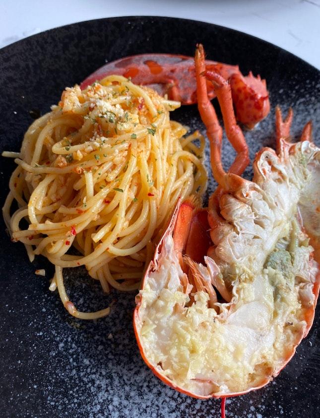 So So Lobster Aglio Olio
