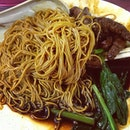 #wantan#mee#chicken#leg#supper#delicious