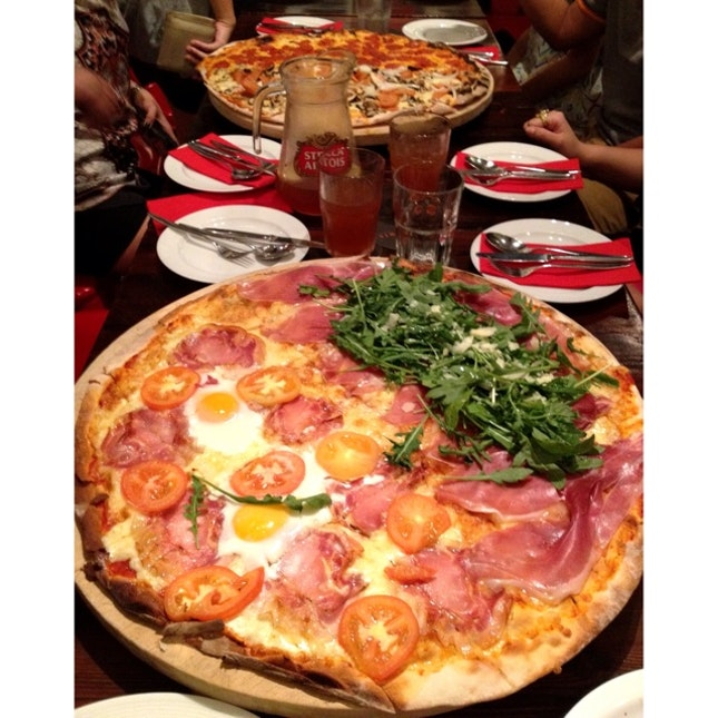 Parma, Pancetta, Diavola & Suprema!