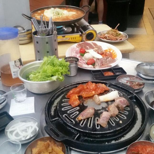 Korean BBQ & Army Stew