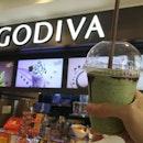 Matcha White Chocolate Iced Chocolixir from Godiva ❤😍❤ .