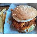 Nasi lemak burger 💁🏼 #BigHugBurger #nasilemak #burger #dope