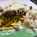Cheesy Fish & Chips