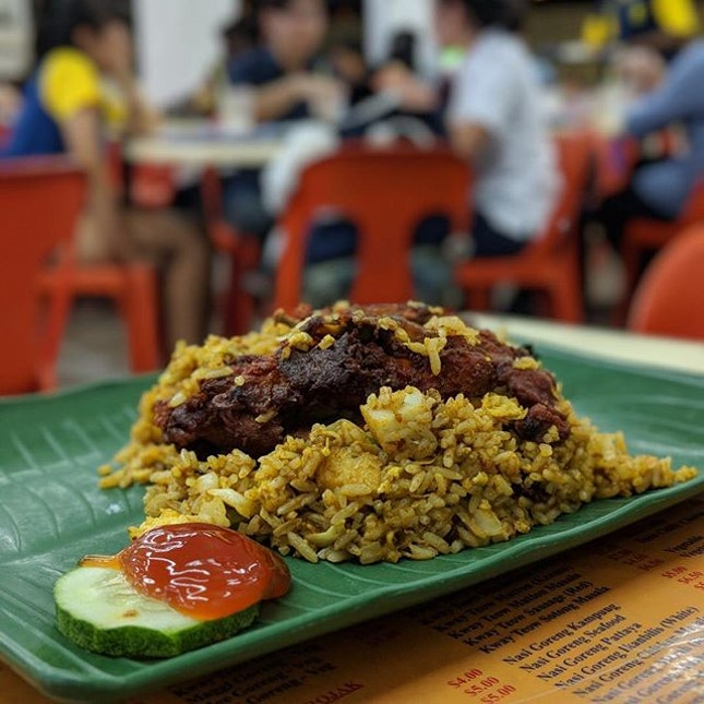 💸: $8.00 [ Nasi Goreng Chicken Masala ] .