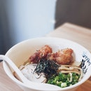 Mazesoba With Deep Fried Chicken [$13.80++]