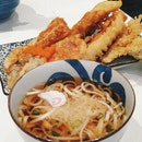Chicken Tempura Bowl With Udon [$12.80++]