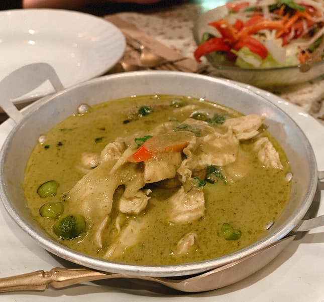 Green Curry W/ Chicken (RM28)