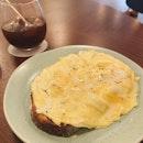 Scrambled Eggs On Sourdough (RM8)