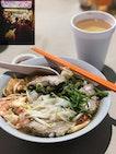 Hong Hong Laksa & Pork Ribs Prawn Noodle