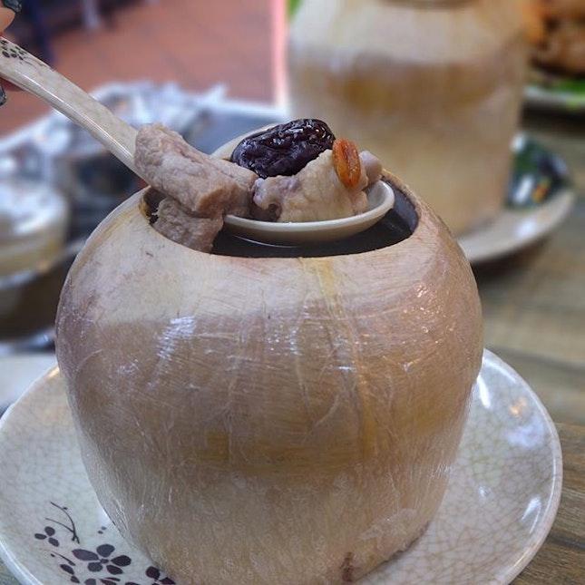 Chicken Coconut Soup [$9] .