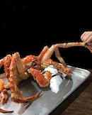 Alaskan king crab [100000KRW] **additional charges for cooking** .