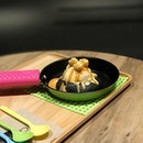 Volcano salted egg lava cookie [RM17.90] .