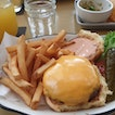All-American Burger with Fries ($22)