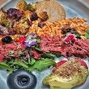 Kale Kimchi Bowl #PrettiestThingEver #Brunch #AlinaEatsMel #onthetable #burpple #vsco #vscocam #vscofood #whati8today #foodies #foodphotography #foodstagram #webstagram #instadaily #먹스타그램 #인스타그램 #멜번 #여행