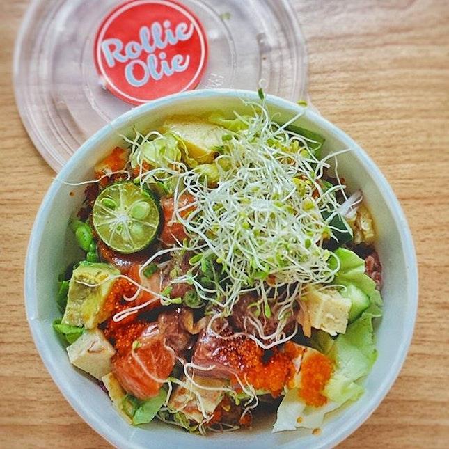 Aloha Poke 😋 #shiokness #alinaeats #pokebowl #onthetable #burpple #vsco #vscocam #vscofood #whati8today #foodies #igsg #sgig #eatoutsg #sgvsco #vscosg #foodies #sgfoodies #foodbloggers #sgfood #instagramsg #f52grams #foodphotography #foodstagram #webstagram #instadaily #먹스타그램 #인스타그램 #싱가폴