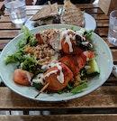 Tandoori Chicken Salad