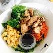 Grilled Cajun Chicken Salad Bowl