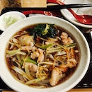 Chicken And Leek Hot Soba