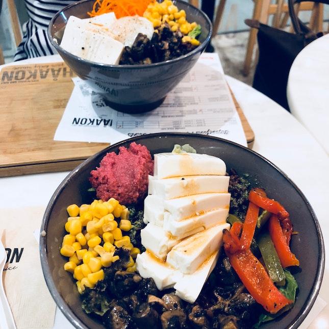 Customisable (Vegan) Salad Bowl 🥗