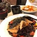 Salmon Rice Soup