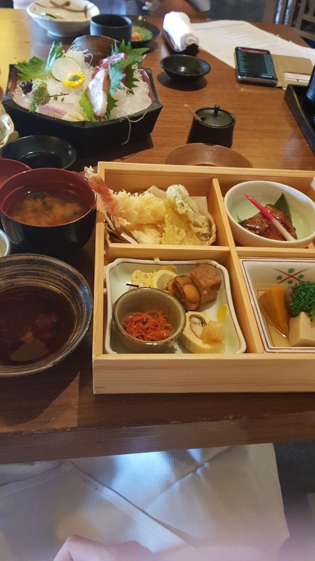 Main course of Keyaki Bento Set