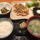 Ginger Sliced Pork ($14.90++) Free Flow Japanese Rice