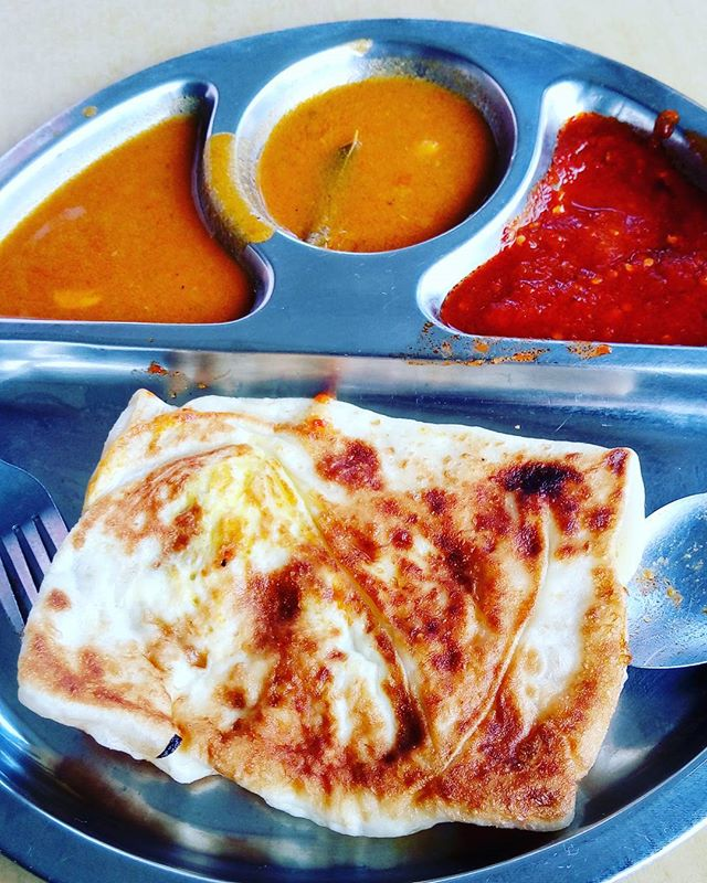 Egg Prata and Plain Prata.