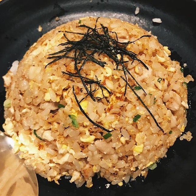 delectable garlic fried rice!!