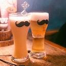 Passion fruit Rice Wine & Orange Soju Beer(~$27) • Favourite place for Korean drinks.