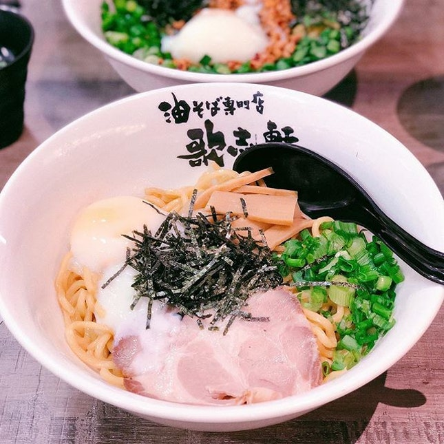 $15 for two bowls of ramen all thanks to #burpplebeyond tried kajiken at Bugis a few weeks before and the consistency in noodles and taste were the same ij both outlets.