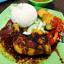 Ayam bakar ($6.70) and power chili!