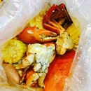 Thank you @sherlitoh_ hubby for the super yummy homecooked seafood in da bag!